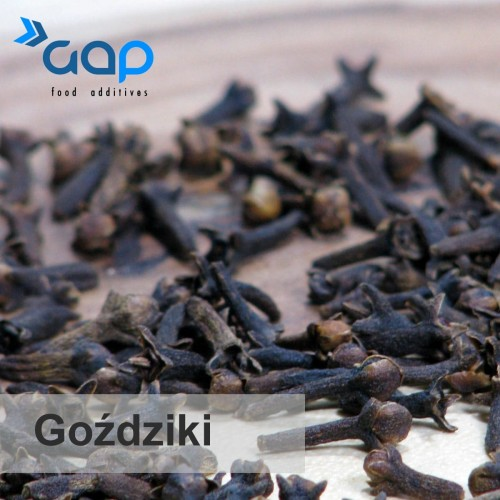 Goździki GAP food additives